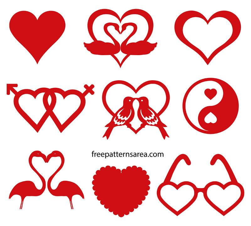 Love Heart Svg Design Graphics