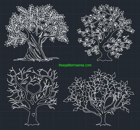 Autocad Tree Dwg CAD Block Files
