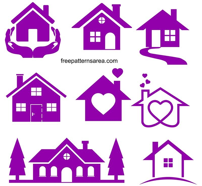 House Svg Icon Clipart File