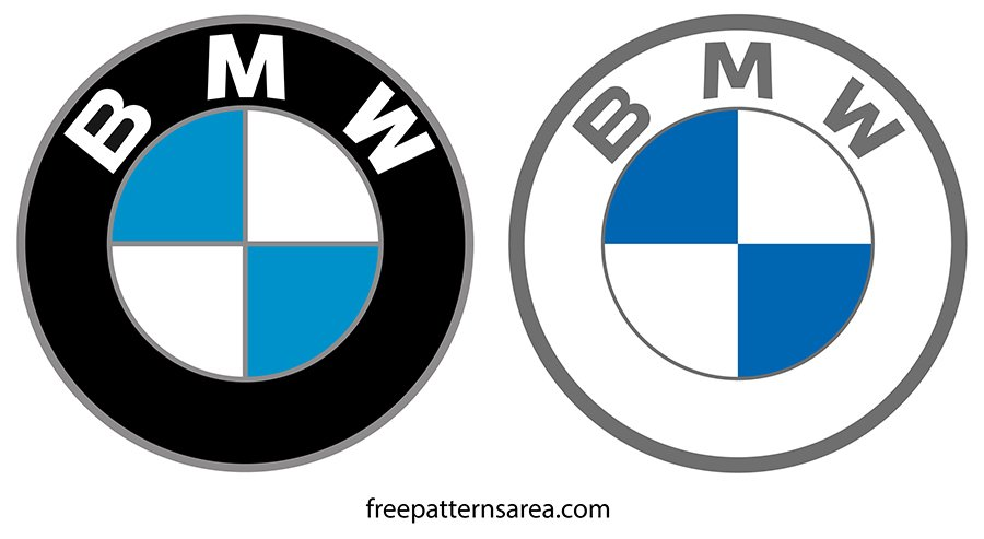 BMW Logo Symbol Vector Clipart Files