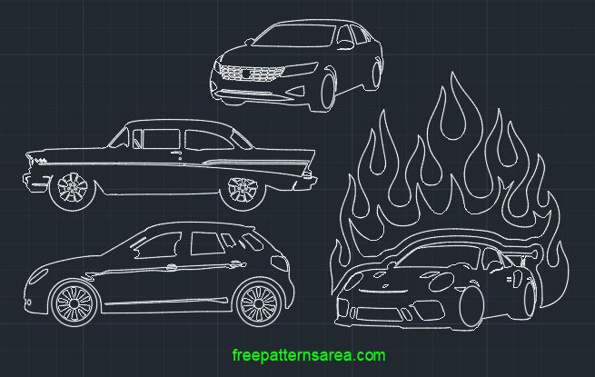 Autocad Car Dwg File CAD Blocks