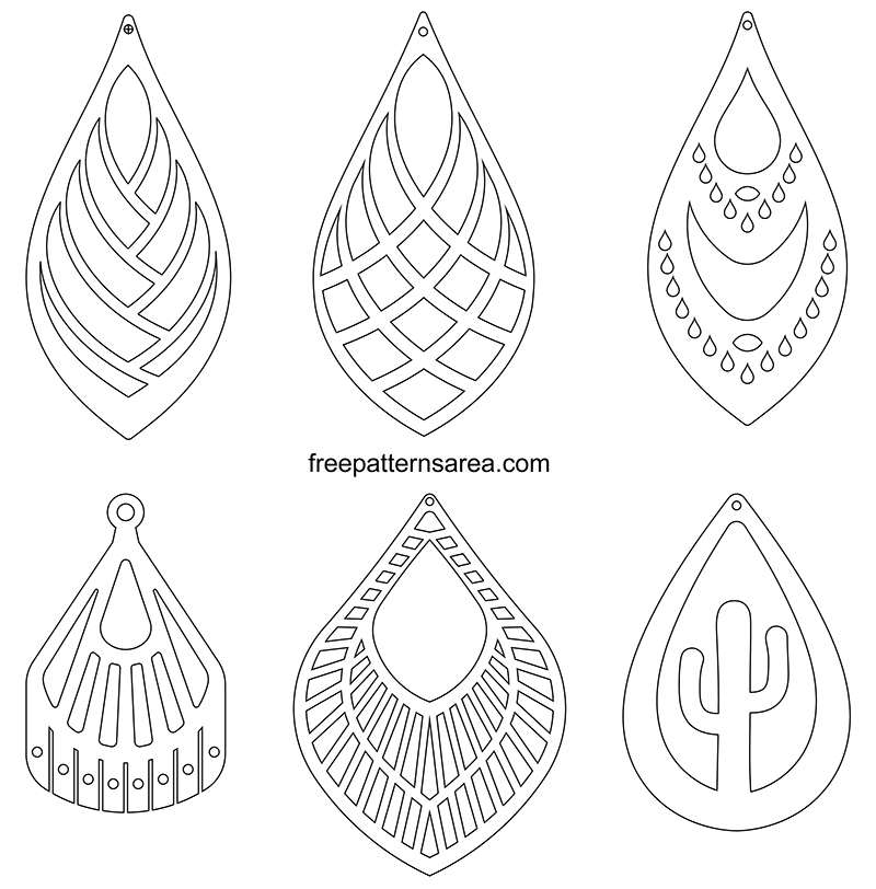 Leather Earring Patterns Free