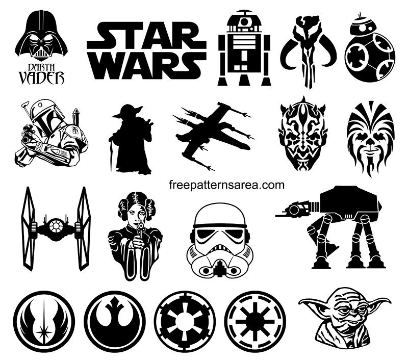 Star Wars Clipart Vector Designs