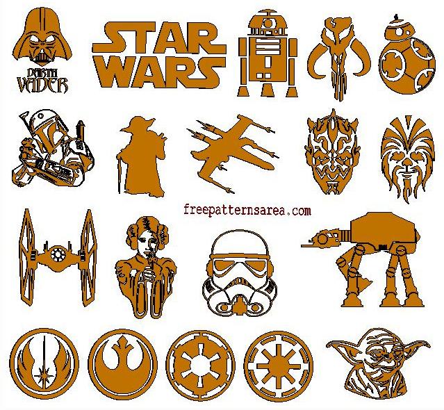 Star Wars Wood Mdf Plywood Laser Cut Cutout
