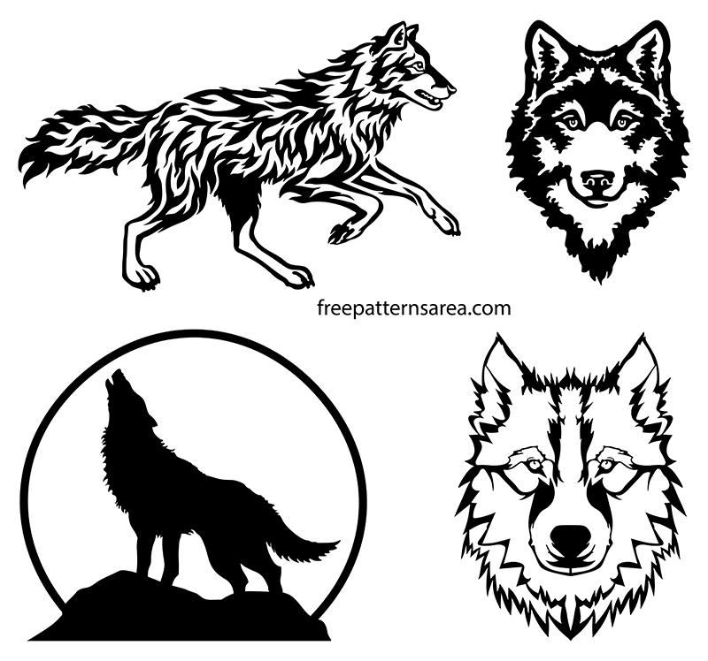 Vector Art Wolf Graphic Design