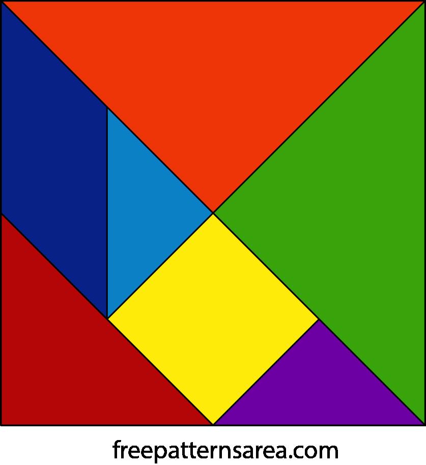 Tangram Puzzle Toy Plan