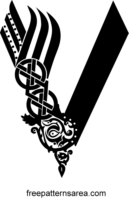 Vikings Serie Logo Symbol Vector Freepatternsarea