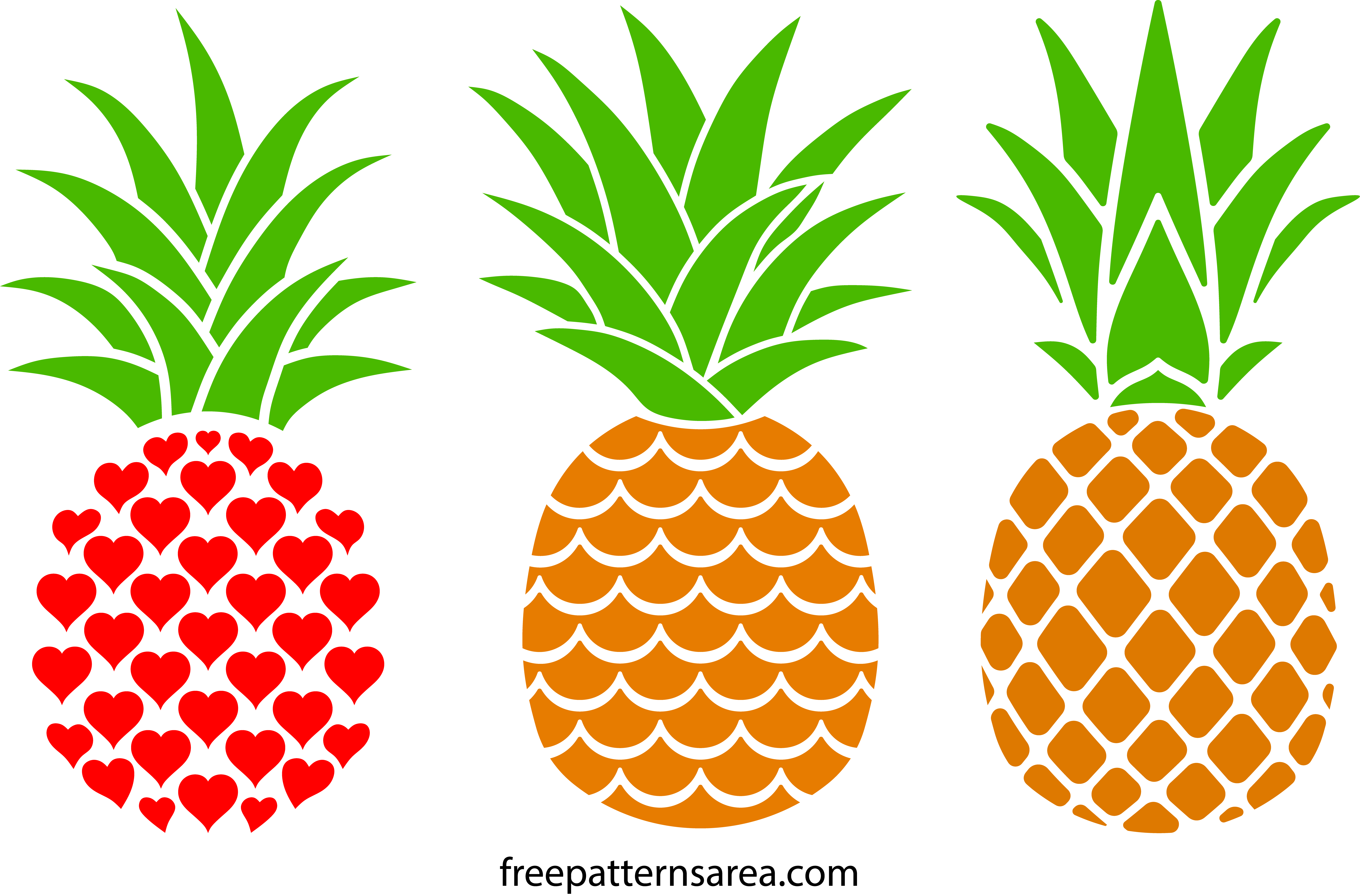 It's just an image of Pineapple Printable with regard to quote